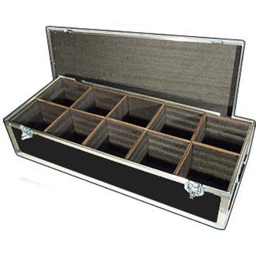 "Lighting Led Par Lights Ata Case W/10 Compartments - Interior Dimensions Per Cube Compartment 8"" X 8"" X 10"" High"