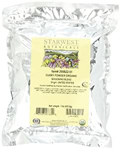 Starwest Botanicals Organic Curry Powder, 1-pound Bag