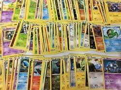 100 Pokémon-Sammelkarten Deutsch UND Englisch