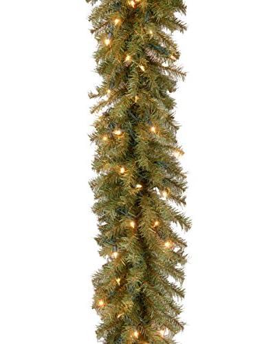 National Tree Company 9' Norwood Fir 50-Light Garland