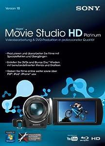 Sony Movie Studio 10 HD Platinum