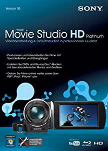 Sony Movie Studio 10 HD Platinum