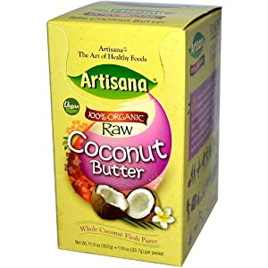 Coconut butter packets