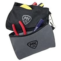 McGuire-Nicholas 32001-P 2 Bags With Snap Hook Carabiner Clip