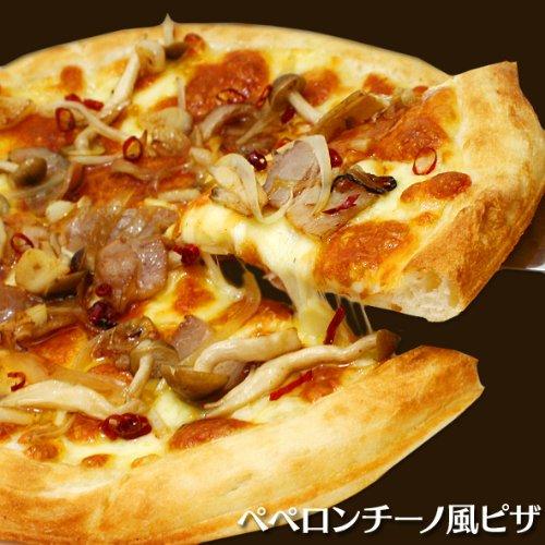 ペペロンチーノ風ピザ