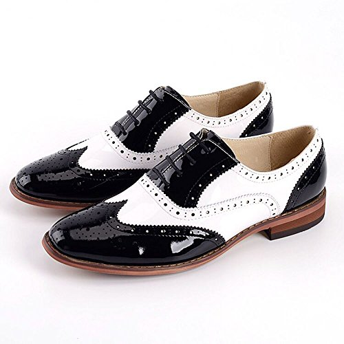 Women Oxford leather shoes E235 (8 B(M)US, A)