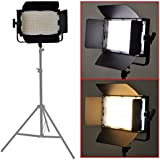Bestlight® 900 LED Professional Photography Studio Video Light Panel Camera Photo Lighting U Shape Bracket