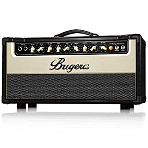Bugera V55HD 55-Watt Vintage 2-Channel Valve Amplifier Head with Reverb