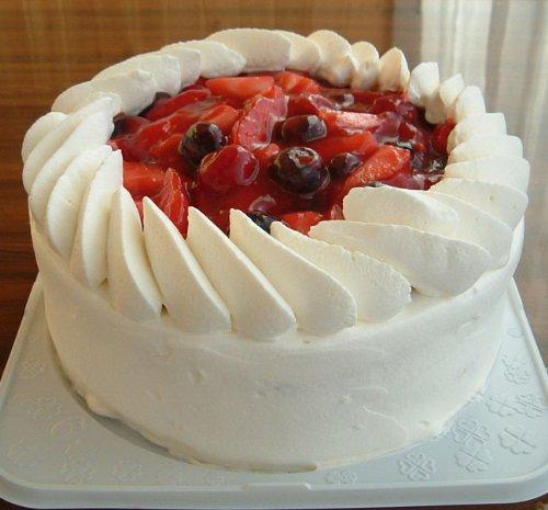 トリプルベリーショートケーキ