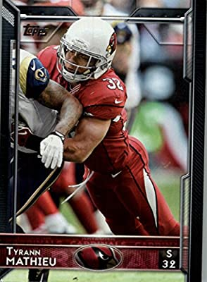2015 Topps #89 Tyrann Mathieu - Arizona Cardinals (NFL Football Cards)