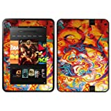 Diabloskinz Vinyl Adhesive Skin Decal Sticker for Amazon Kindle Fire HD 8.9 - Art Oil Painting