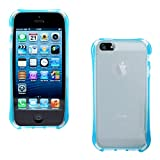 DMG Ultra Thin Flexible TPU Extra Protection And Grip Back Cover Case For Apple IPhone 5/5S (Blue)