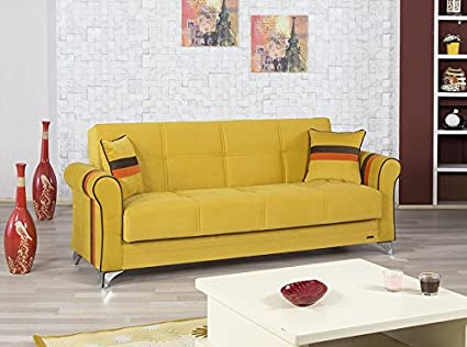 Metro Life Sofa Bed | Sarp Mustard