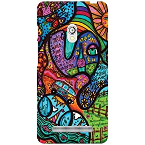 Printland Asus Zenfone 5 A501CG Back Cover High Quality Designer Case