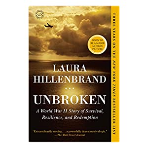 Cover Image of Unbroken by Laura Hillenbrand