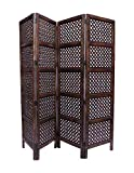 Aarsun Handcrafted Wooden Folding Partition Screen