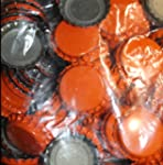 ORANGE CROWN CAPS WITH OXY-LINER