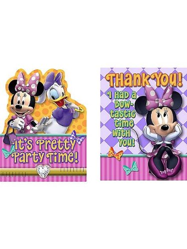 Minnie's Bow-tique Invite & Thank You Combo