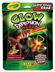 Crayola Glow Explosion Glow Stick Gear