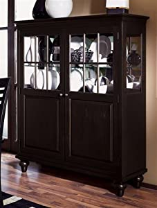 Somerset Display China Cabinet in Espresso Finish