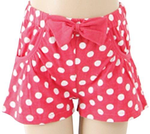 Uttam Kids Polka Dot with Bow Girl's Shorts