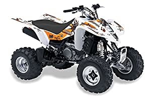 AMR Racing Kawasaki KFX450, KFX450r ATV Quad, Graphic Kit - Toxicity: Orange ...