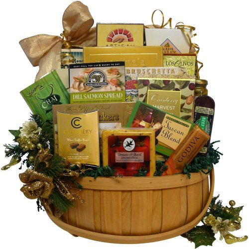 Art Of Appreciation Gift Baskets Glad Tidings Christmas Holiday Gourmet Food Picnic Hamper
