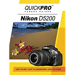 Nikon D5200 Instructional DVD by QuickPro Camera Guides