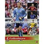 Fußball Superstars Posterkalender - Kalender 2017 - Heye-Verlag - Wandkalender mit Spielergeburtstagen - 34 cm x 44 cm
