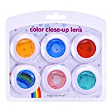 Sunmns Color Close-Up Lens Filter Set for Fujifilm Instax Mini 8/ 8+/ 7S Instant Film Camera, 6 Pieces