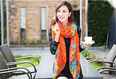 51vy86avs0L. SX466  Flower Blossom Scarves for as low as $2.19 Shipped!