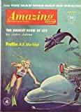 img - for Amazing Science Fiction Stories, August 1961 (Vol. 35, No. 8) book / textbook / text book