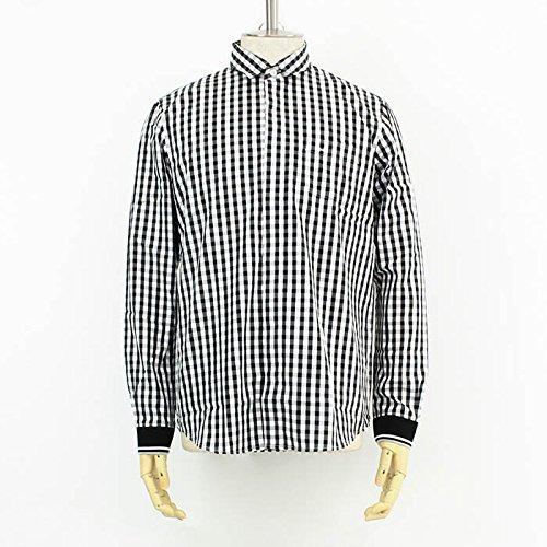(フレッドペリー) FRED PERRY ソデグチRIBシャツ [F4329] 07 BLK GIN S