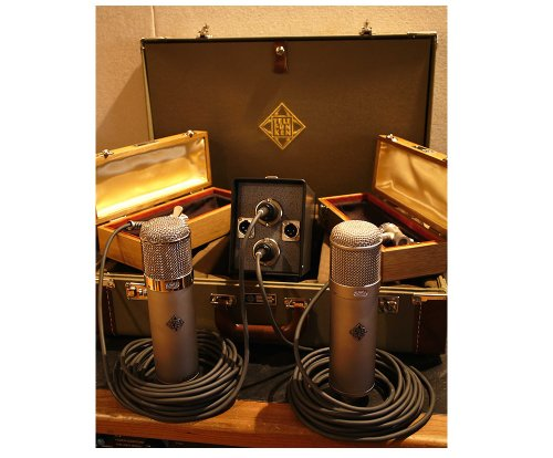 Telefunken U48 Stereo Set | Tube Condenser Microphone Set With Authoritative Mid-Range And Extended Low-End (U48 Stereo Set)