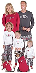 Classic Holiday Nordic Matching Pajamas for the Whole Family, Girls 10