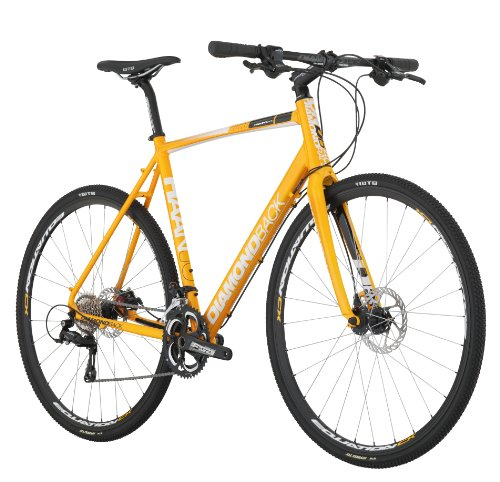 afc4f7e3eb6 Diamondback Bicycles 2014 Haanjo Alternative Road Bike 700cm Wheels 53cm  Yellow