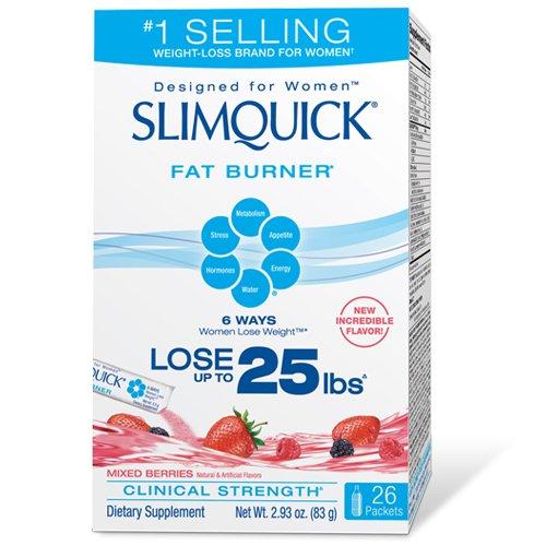 Slimquick Fat Burner Mixed Berries, 26-Count