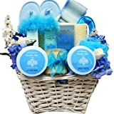 All About Me Vanilla Mist Spa Bath and Body Gift Basket Set