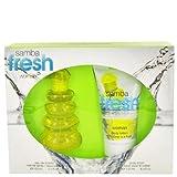 Perfumers Workshop Samba Fresh Gift Set -- 3.4 Oz / 100 ml Eau De Toilette Spray + 4.4 Oz Body Lotion For Women...