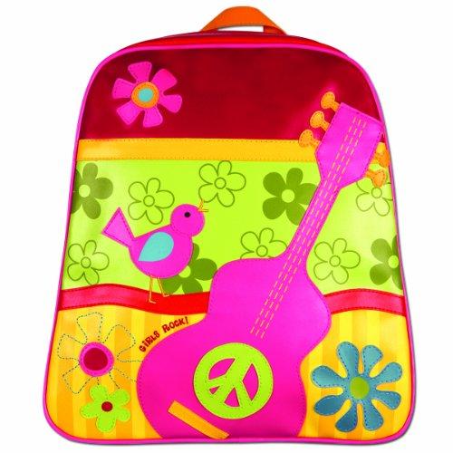 Stephen Joseph Little Girls' Little Girls' Go-Go Bag, Girls' Rock, One Size front-914621