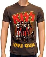 Coole-Fun-T-Shirts T-Shirt Kiss - Love Gun