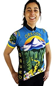 Ladies Oregon Short Sleeve Jersey by Free Spirit