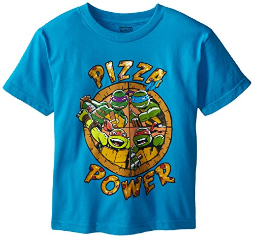 Teenage Mutant Ninja Turtles Big Boys' TMNT Pizza Power Tee