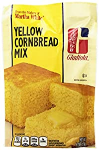 Gladiola Yellow Cornbread Mix, 6-Ounce (Pack of 12)