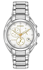 Citizen Women's FB1390-53A Celestial Analog Display Japanese Quartz Silver Watch