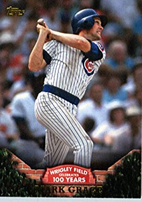 2016 Topps #WRIG-4 Mark Grace Chicago Cubs Baseball Card -In Protective Screwdown Case