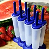 Justcharms Tovolo Twin Pop Popsicle Molds Set of 4 - Fun Popsicle Frozen Treats