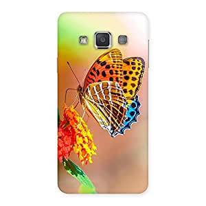 Stylish Queen Butterfly Back Case Cover for Galaxy A3