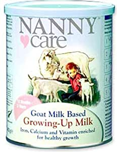 Nanny Care Growing Up Goat Milk Powder 400 g (Pack of 2): Amazon ...