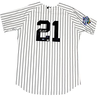 Paul Oneill Autographed New York Yankees Authentic Pinstripe Jersey With 1999 Patch